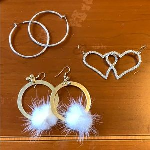 Jewelry - Crystal earrings sets